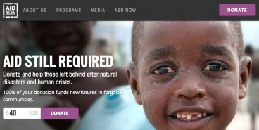 Aid Still Required Website Thumbnail